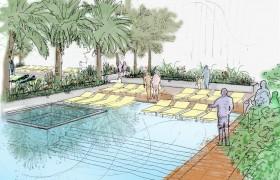 Landscape Concept Design Dubai
