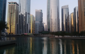 View of apartment location at Jumeirah Lake Towers, Dubai-scaled