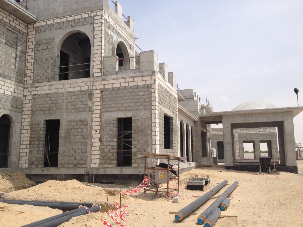Private Villa construction Dubai UAE