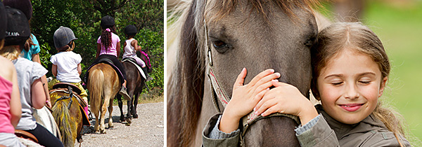Horse riding holidays on Exmoor